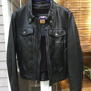 Women's Small Harley Leather Jacket